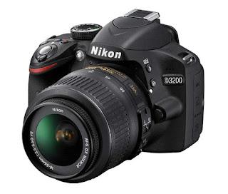 DSLR Nikon D3200 Harga Terbaru