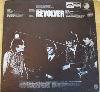 Beatles Revolver Back Cover