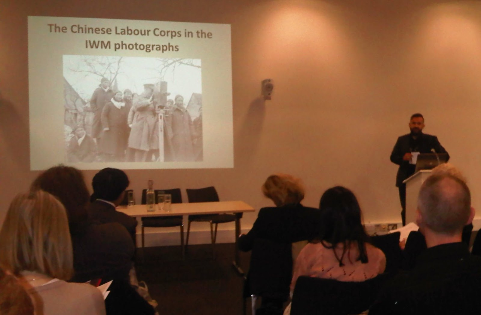 Mauriuz Gasior (Imperial War Museum) gave an introduction to the IWM's  photographic archives, both official and unofficial, relating to the CLC –  prompting ...