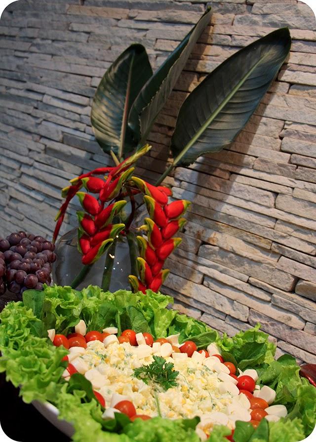Decoração Ano Novo : Jantar do Réveillon : Salada
