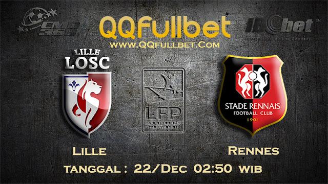 PREDIKSIBOLA - Prediksi Taruhan Bola Lille vs Rennes 22 Desember 2016 (Liga 1 Perancis)