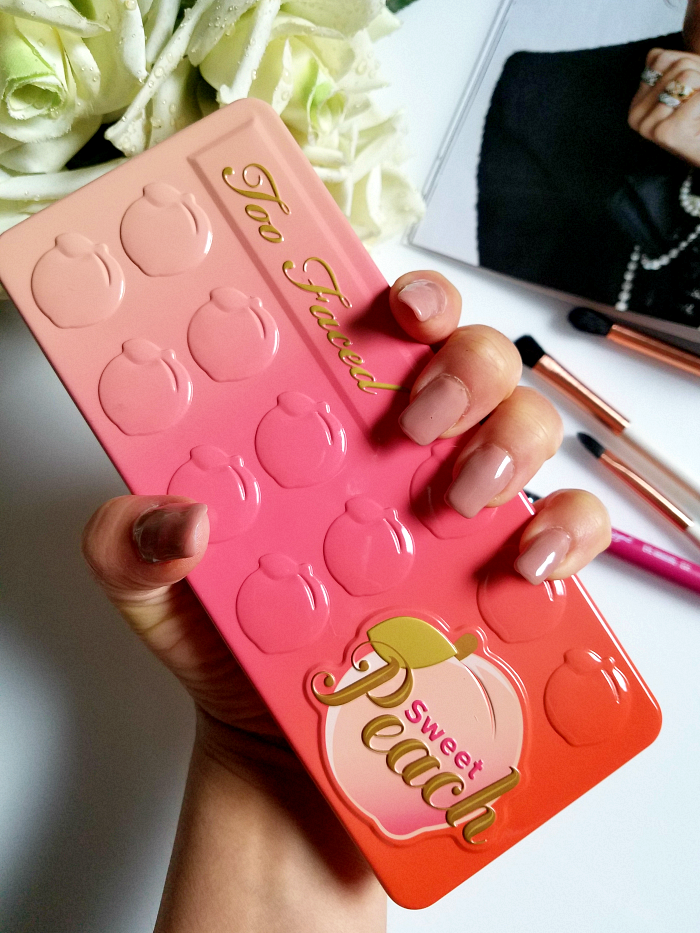 Too Faced - Sweet Peach Eyeshadow Palette 1 Madame Keke Review & Swatches