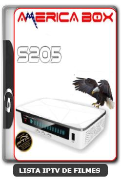 Americabox S205 Nova Atualização Estabilidade do Sistema Operacional e SKS V2.43 - 17-05-2020