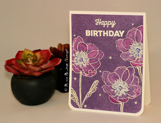 Post#193 - Me And My Daily Papercraft Blog - Handmade Card by PriCreated