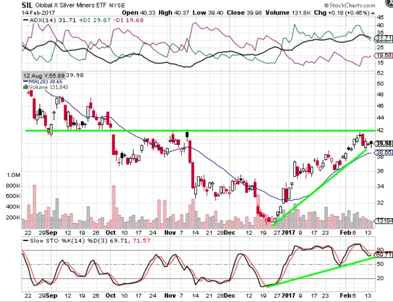 Headlines for Global X Silver Miners ETF (NAR:SIL)