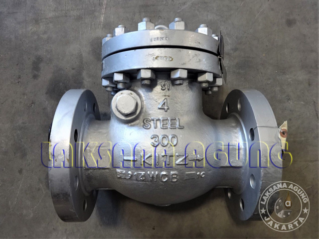 TABEL BERAT SWING CHECK VALVE A216 WCB