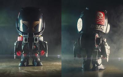 Designer Con 2018 Exclusive Robotech Skullhead Figure by Huck Gee x BAIT