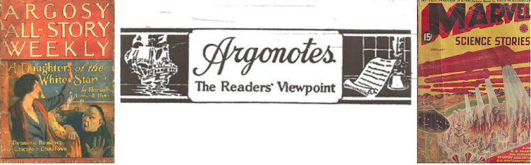 Argonotes - Early Twentieth Century Escapism