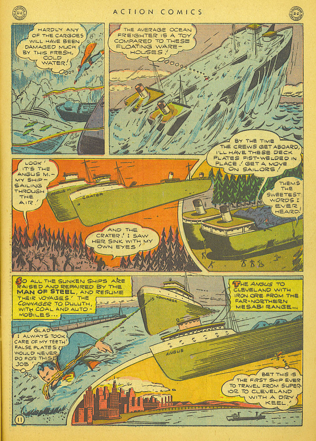 Read online Action Comics (1938) comic -  Issue #91 - 13