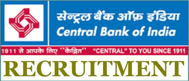Central Bank of India, Faculty/ Office Assistants, CBI recruitment