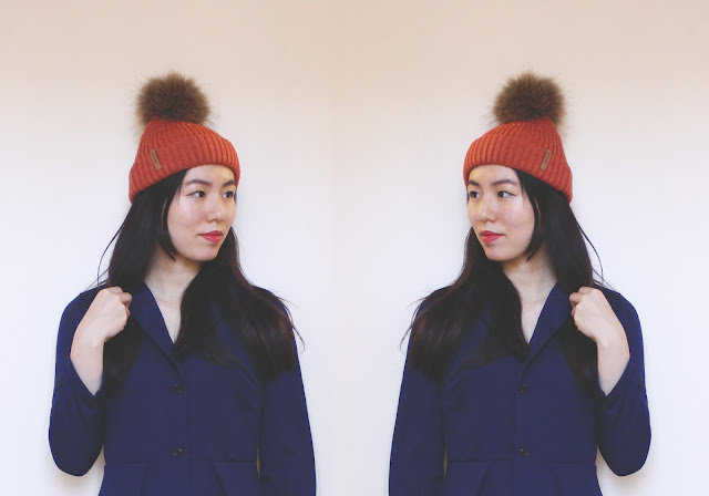 fur bobble hats bklyn