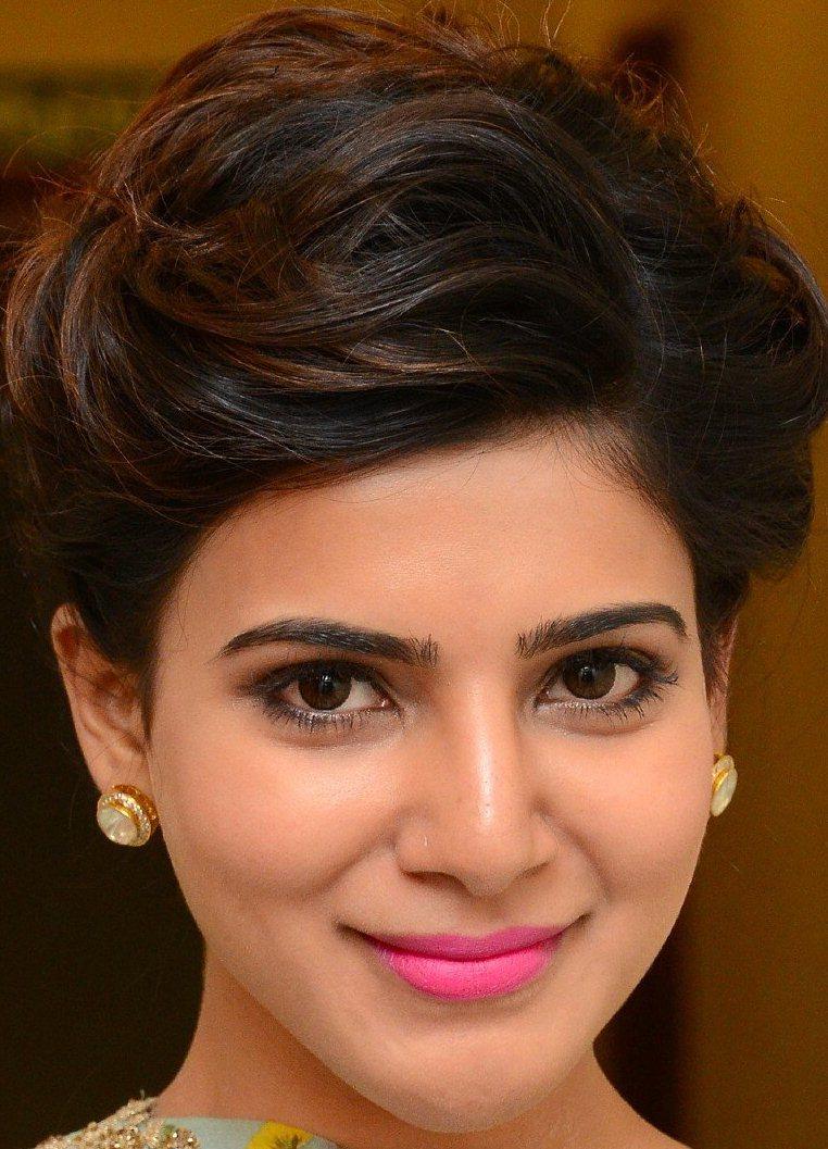 samantha ruth prabhu pictures: tamil actress samantha face close up