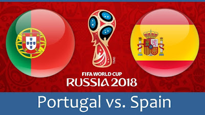 Live Streaming Portugal vs Spain Piala Dunia 16.6.2018