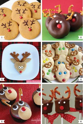 Biscoitos decoração de Natal