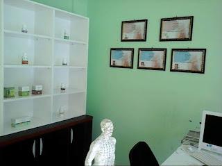 Display product suplemen dan herbal