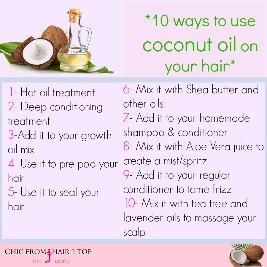 10 Ways to Use Coconut Oil on Your Hair