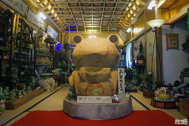 カエルの家、如意輪寺カエル寺、福岡