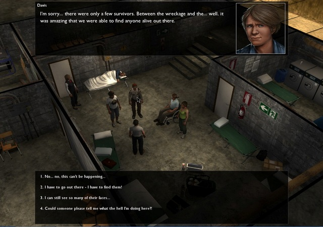 Dead State PC Games Screenshots
