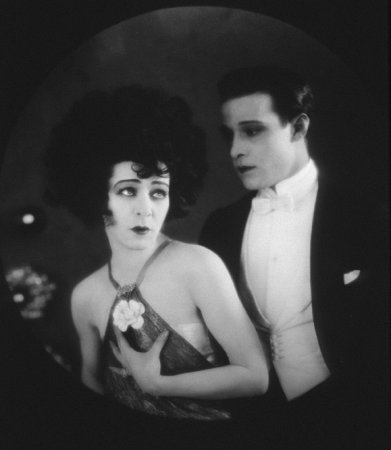 Alla Nazimova and Rudolph Valentino in Camille 1921