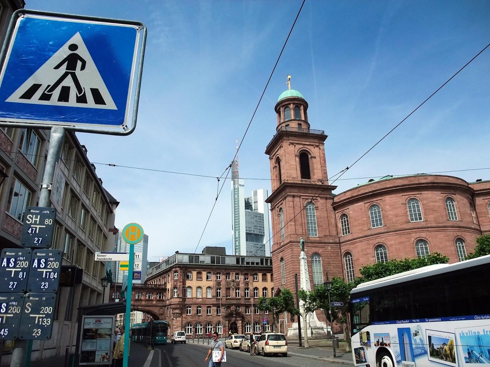 遊記|德國 - 法蘭克福聖保羅教堂 Paulskirche