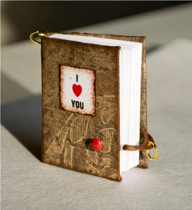 Miniatyr hjärtans bärbara datorer