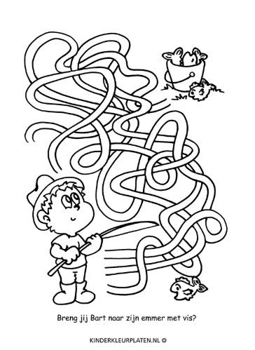 Kinderkleurplaten Cijfers.Crispina 11 18