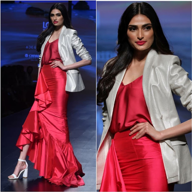 Athiya Shetty Walks the Ramp for Posh Pride