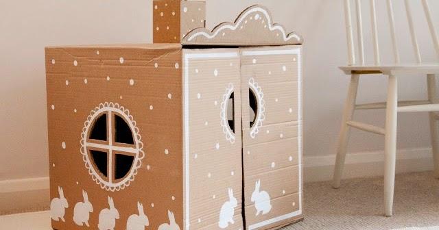 Decorar Caja Carton Low Cost