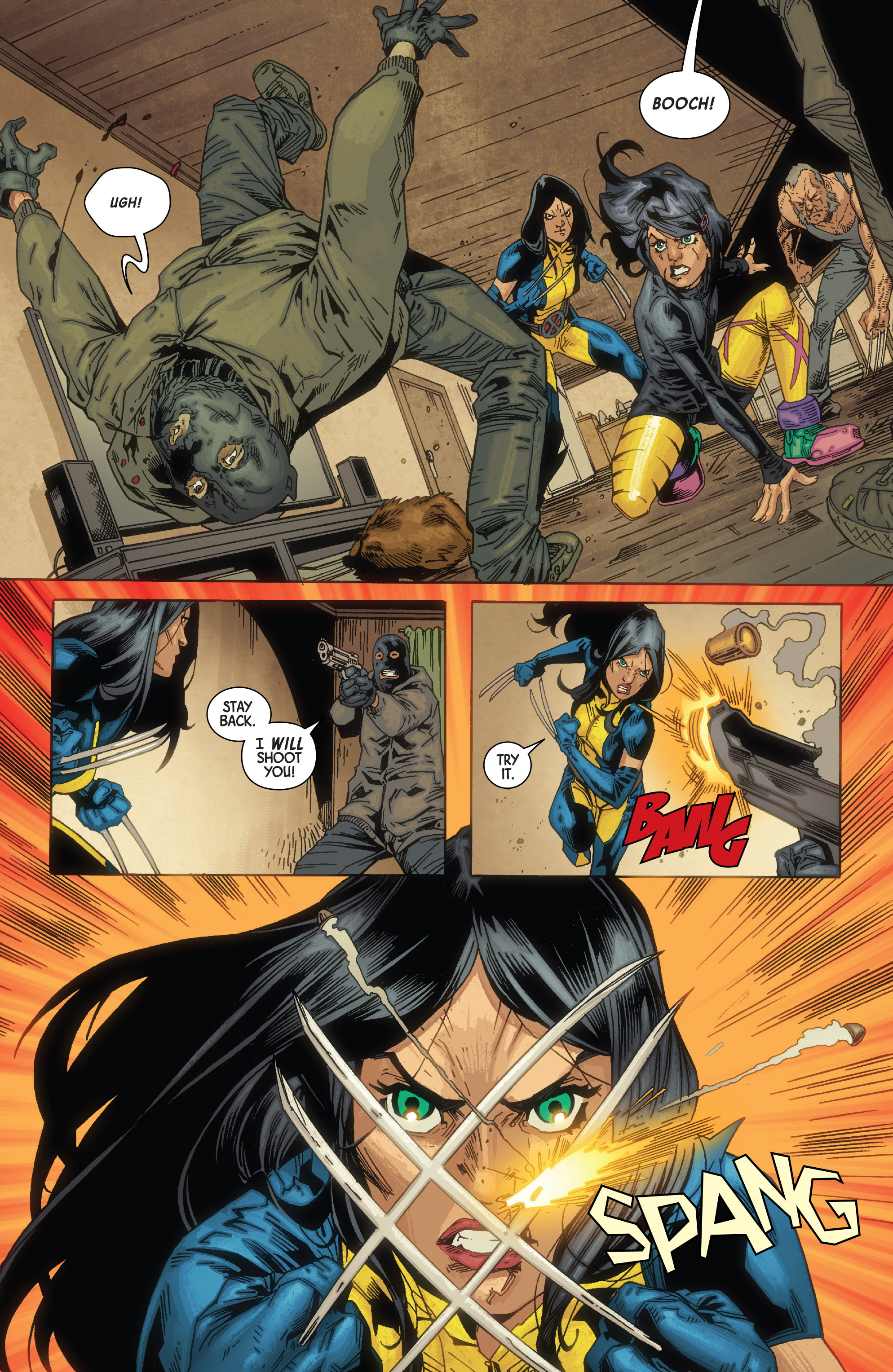 Read online All-New Wolverine (2016) comic -  Issue #10 - 18