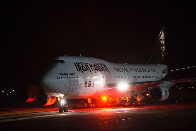Iron Maiden apresenta novo avião para a Tour 2016 – VEJA FOTOS!