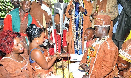 female councilor weds in shrine