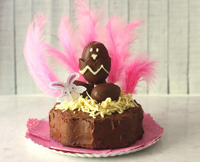 Bizcocho De Chocolate Súper Fácil Para Mona De Pascua