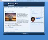 Thisaway Blue Theme