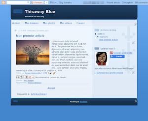 Thisaway Blue Theme