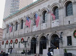 The Boston Public Library