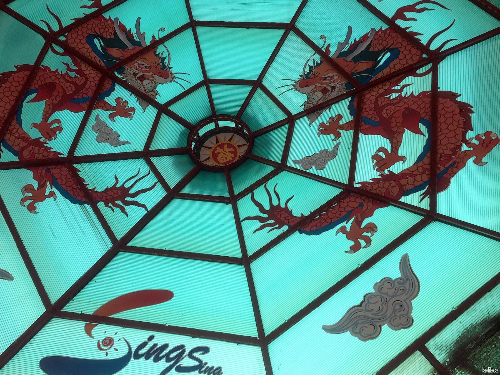Seoul, Korea - Summer Study Abroad 2014 - Busan Chinatown - Dragons mural