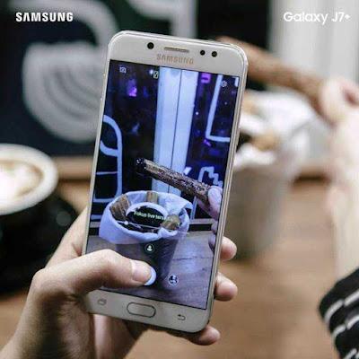 smartphone samsung galaxy j7 plus