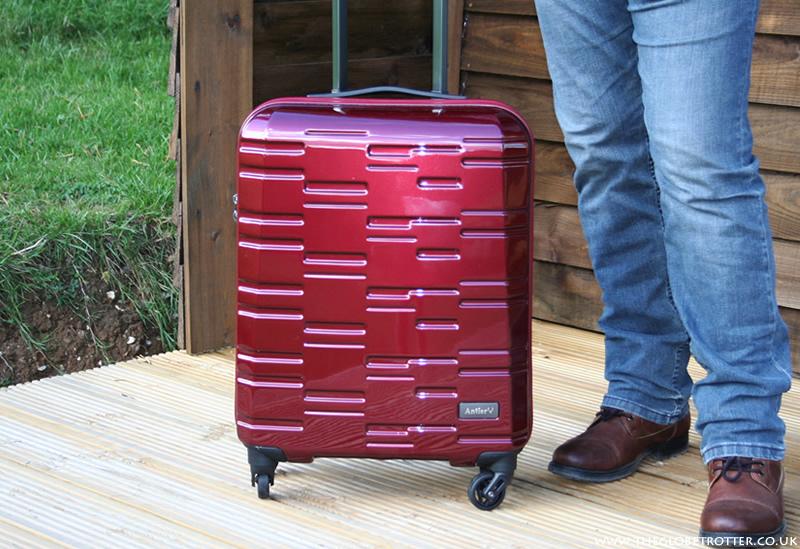 Antler Prism 4-Wheel Spinner Cabin Suitcase