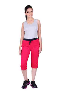 Deals on  Women's Relaxed Fit Capris
