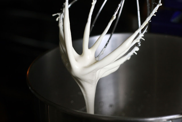 Whisk with the meringue