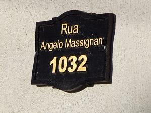 placas número de casas