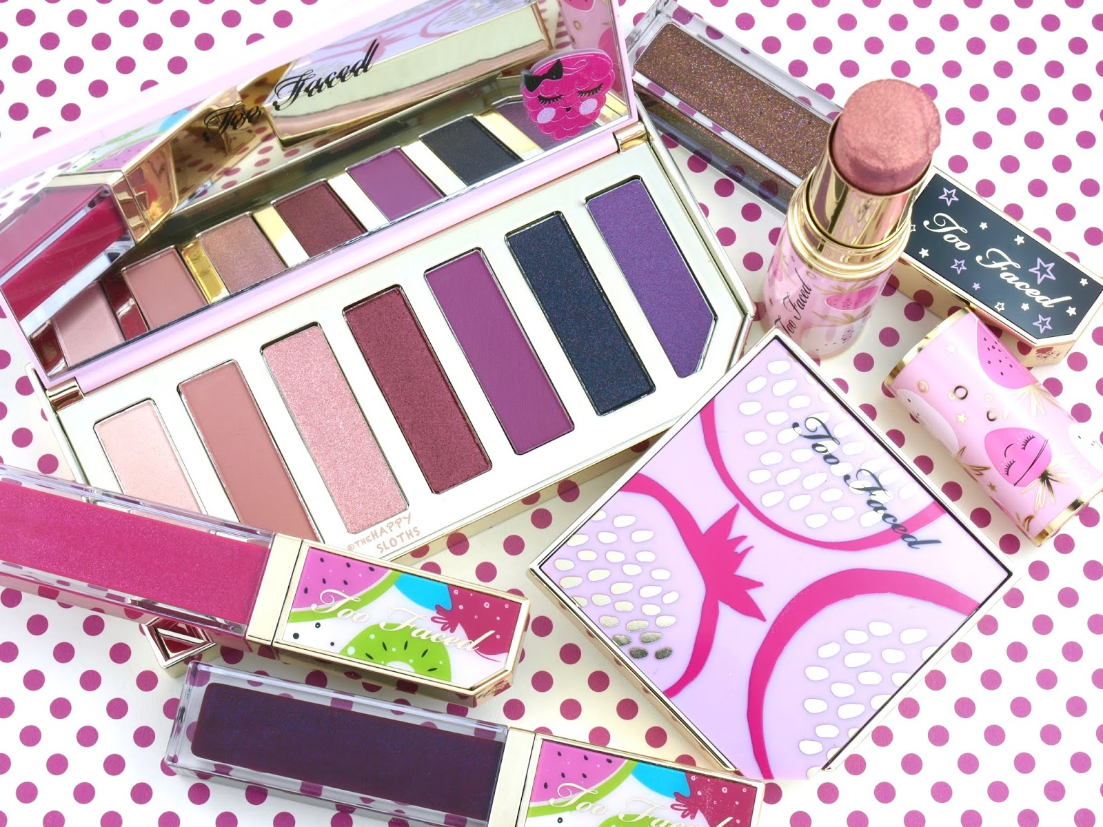 Too Faced | Tutti Frutti Collection: Review and Swatches