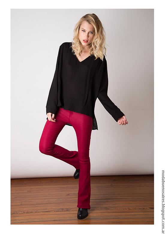 Pantalones invierno 2016 ropa de mujer. Moda invierno 2016 mujer Nuara.