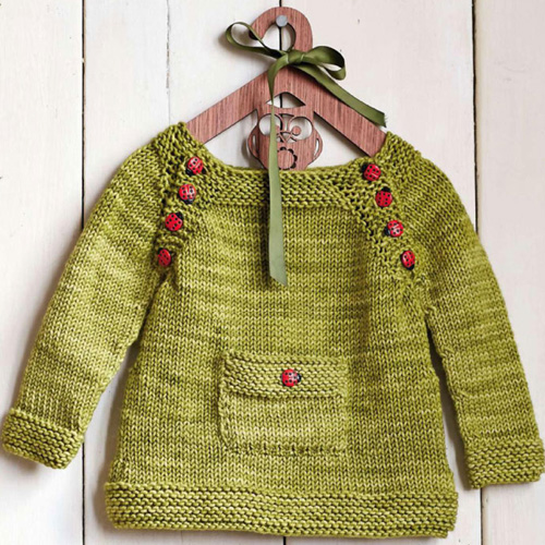 Pullover for kids - Free pattern