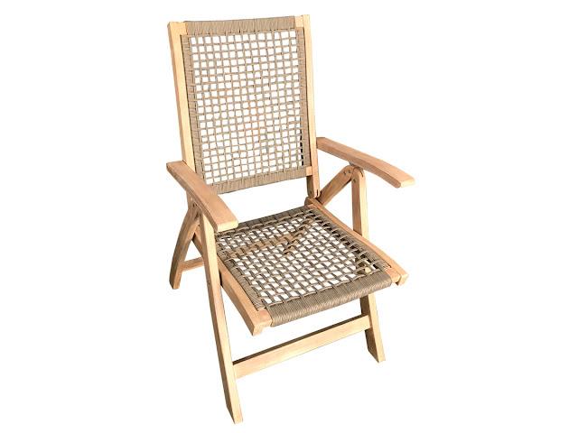 krzesło ogrodowe rozkładane