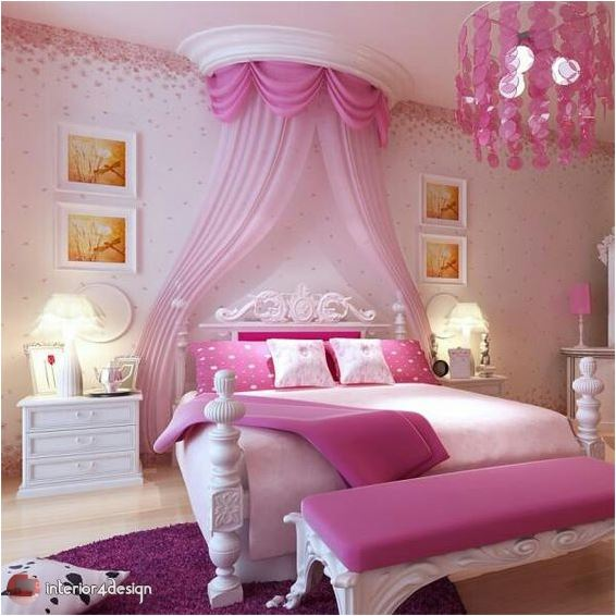 pink bedrooms for teen girls 10