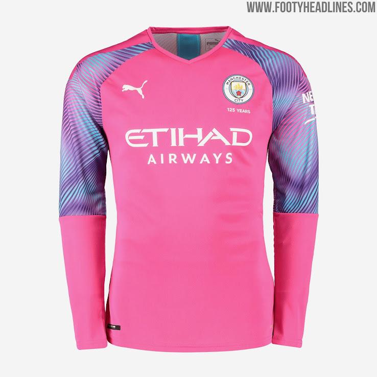 brand new dcc5c f9ba6 Manchester City 19-20 Goalkeeper Home, Away & Third Kits ...
