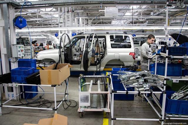 На заводе УАЗ внедрили материалы, предотвращающие коррозию