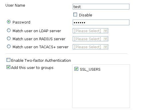 Network Labs: Fortigate v4 SSL-VPN