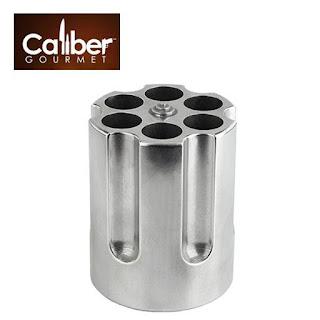 CALIBER GOURMET Gun Cylinder Pen Holder (Cast Aluminium)